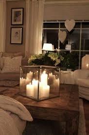 kerzen couchtische dekorieren wohnaccessoires tisch