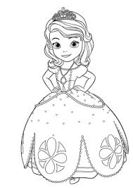 Click To See Printable Version Of Princess Sofia Coloring Page