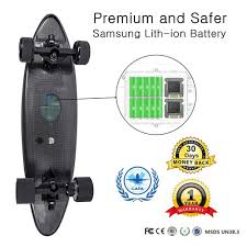 Maxfind World Lightest Penny Board Electronic Colorful E Skateboard ...