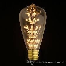 antique retro vintage edison light bulb e27 220v 3w incandescent