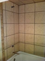 Tiling A Bathtub Surround by Basement Tile Tub Surround Columbia Missouri Bathroom Remodel