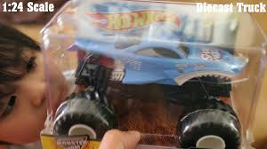 Unboxing Monster Jam Truck Shark Wreak 1 24 Diecast Toy By Hot ...