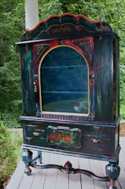 99 Inspiration Furniture Hours Boho Art Painted Cabinet Gypsy Chic DIY Paint Shellac And