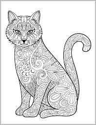 Cat Stress Relieving Designs Patterns Adult By LiltColoringBooks Coloring Book