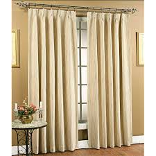Patio Door Curtains For Traverse Rods by Pleated Curtains Pleated Drapes Altmeyer U0027s Bedbathhome