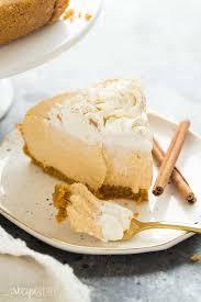 Easy Pumpkin Desserts With Few Ingredients by No Bake Pumpkin Cheesecake Recipe