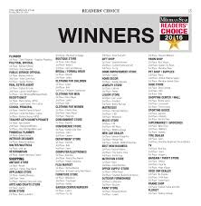 Readers Choice 2016 by The Meridian Star issuu