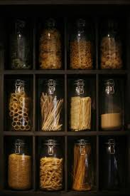 Keeping Staples In Your Pantry Will Help You Cook Healthy Meals Love The Jars And Divider Shelves Mas