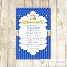 Royal Boy Baby Shower Invitations Unique Baby Shower Boy