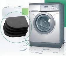 4 stücke multifunktionale kühlschrank anti vibration pad matte für waschmaschine schock pads rutschfeste matten badezimmer zubehör
