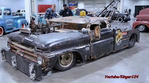 100 Rat Rod Tow Truck Slammed World Of Wheels PGH 2013 YouTube