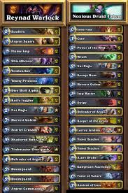 warlock aggro deck 2016 top ten legendaries to craft hearthstone players