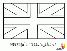 Download Great Britain Flag Coloring Pages