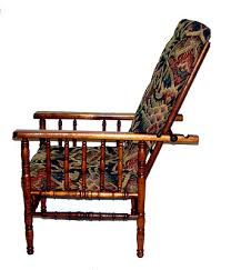Ebay Rocking Chair Cushions by Child U0027s Faux Bamboo William Morris Chair W Upholstered Cushions