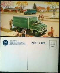 Vintage 1950s GMC F350 Moving Truck Original Postcard 1951 1952 ... 1953 Chevrolet 2 Ton Moving Van Jim Carter Truck Parts Mclane Northeast Ryder Freightliner Cascadia Day Cab Tractor With Vehicle Trucks For Sale Straight Pictures Gmc Specials Hardy Brake Electric Rental Wallpapers Background 7 Excellent Tips On How To Pack A Perfectly Fuel Tanks For Most Medium Heavy Duty Trucks