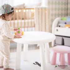 Easy Child Table + 2 Stools Set
