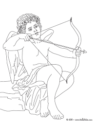 EROS The Greek God Of Love Coloring Page Free GREEK GODS Pages Available For Printing Or Online You Can Print Out And Color This