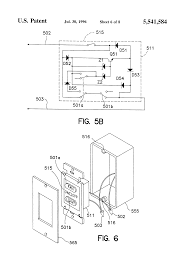 Harbor Breeze Ceiling Fan Capacitor Wiring by Patent Us4937513 Tapped Auxiliary Winding For Multi Speed Drawing