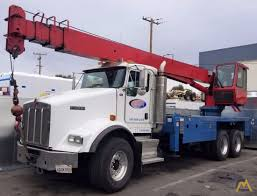 22t Manitex 22101S Boom Truck Crane For Sale Trucks & Material ...