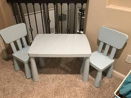 IKEA Kids Table And Two Chairs Ikea Mammut Kids Table And Chairs Mammut 2 Sells For 35 Origin Kritter Kids Table Chairs Fniture Tables Two High Quality Childrens Your Pixy Home 18 Diy Latt And Hacks Shelterness Set Of Sticker Designs Ikea Hackery Ikea