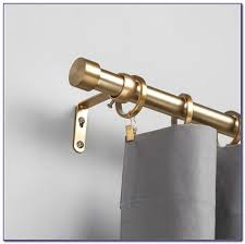 umbra brass curtain rod curtain home decorating ideas krrd02lroj