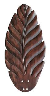 Palm Leaf Shaped Ceiling Fan Blade Covers by Palm Ceiling Fan Blade Sofrench Me