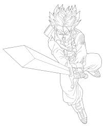 Ssgss Goku Coloring Pages At GetColoringscom Free Printable