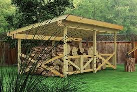 log racks and firewoood shed plans cool shed design