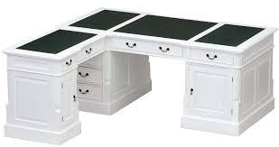 meuble bureau blanc bureau d angle victorien acajou blanc cambridge meuble de style
