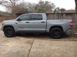 100 What Size Tires Can I Put On My Truck Experience With Largest Tires On Stock Trd Pro Setup Toyota