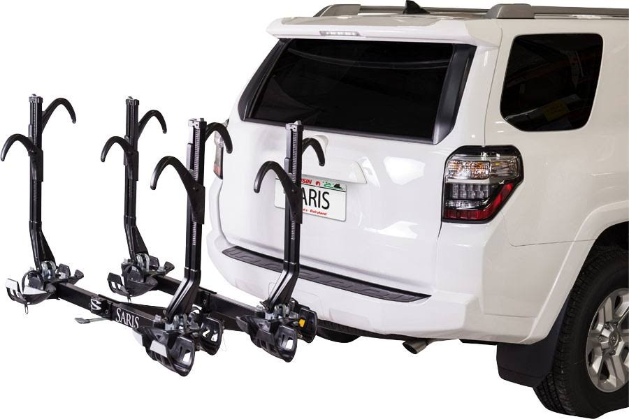 Saris SuperClamp EX Hitch Mount 4-Bike Rack - Black