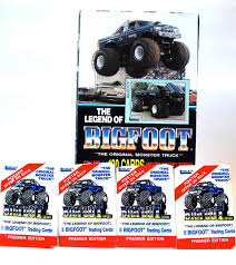 100 Bigfoot Monster Truck Toys 4 Trading Card Packe By Leesley Etsy