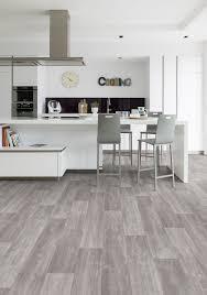 pvc designboden in grau vinylboden innenarchitektur küche