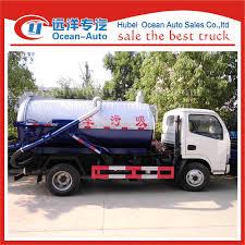 Hot 4x2 6 Wheeler Vacuum Trucks For Sale,Sewage Vacuum Tank Trucks ...