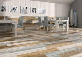 Fake Ceramic Tile Flexible Porcelain Wood Mix