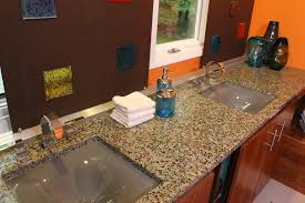 Bathroom Countertop Materials Comparison by Bathroom Design Awesome Recycled Glass Countertops For Amazing