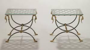table de canapé tables canapé vintage de maison jansen set de 2 en vente sur pamono