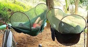 $40 12 TRAVELRER Outdoor Single Person Hammock Tent Pop Up