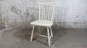 shabby chic stuhl essstuhl weiß küchenstuhl handarbeit diy upcycling vintage