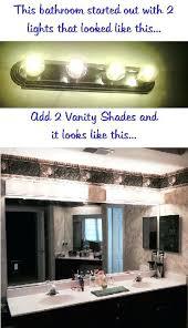 Bathroom Vanity Light Fixtures Pinterest by Enchanting 10 Bathroom Vanity Light Cover Diy Inspiration Of