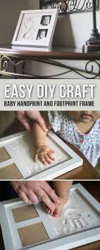 Our baby footprint kits and handprint kits are a fun DIY project for