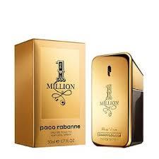 paco rabanne 1 million eau de toilette for him the perfume shop