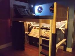 Nasa Mission Controlspaceship Bed Ba Spaceship Room Decor Home Wallpaper