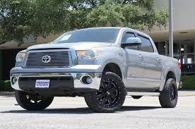 Pre-Owned 2011 Toyota Tundra 4WD Truck Ltd Crew Cab Pickup In Irving ...