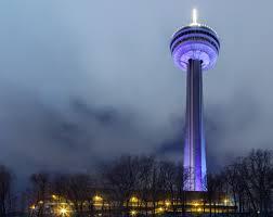 Skylon Tower Revolving Dining Room by Skylon Tower Niagara Falls Canada