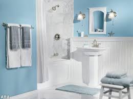 Dark Teal Bathroom Ideas by Blue And Black Bathroom Decor White Ceramic Corner Bathtub White