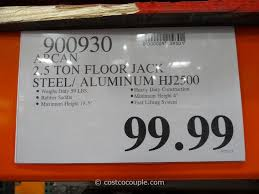 Aluminum Floor Jack 3 Ton by Arcan 2 5 Ton Steel Aluminum Hybrid Jack