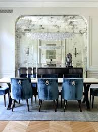 Navy Blue Dining Room View In Gallery Traditional Design