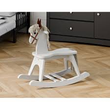 Storkcraft Wooden Kids Rocking Horse - Chair Ride Toy For Toddlers And  Small Children For Nursery & Playroom