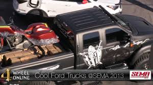 100 Cool Ford Trucks From SEMA 2013 YouTube
